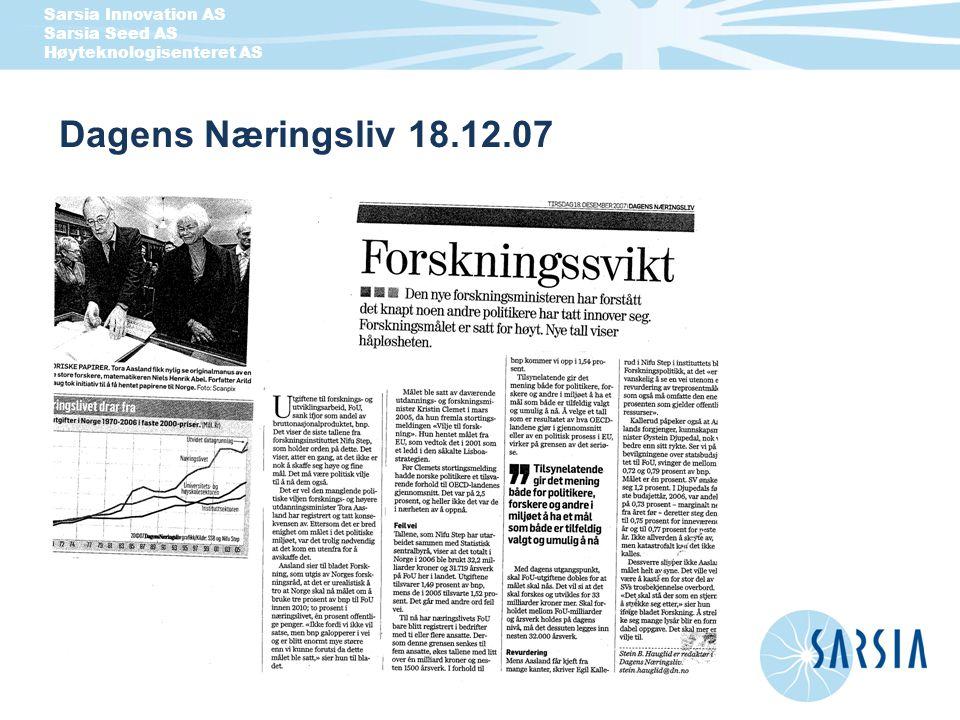 Dagens Næringsliv 18.12.07