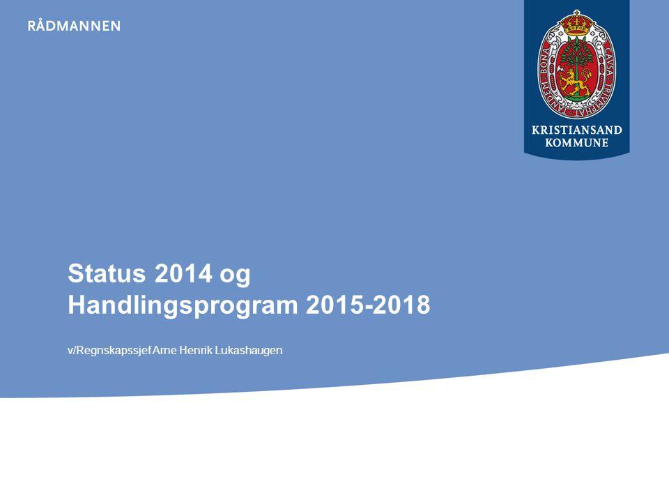 Status 2014 og Handlingsprogram 2015-2018