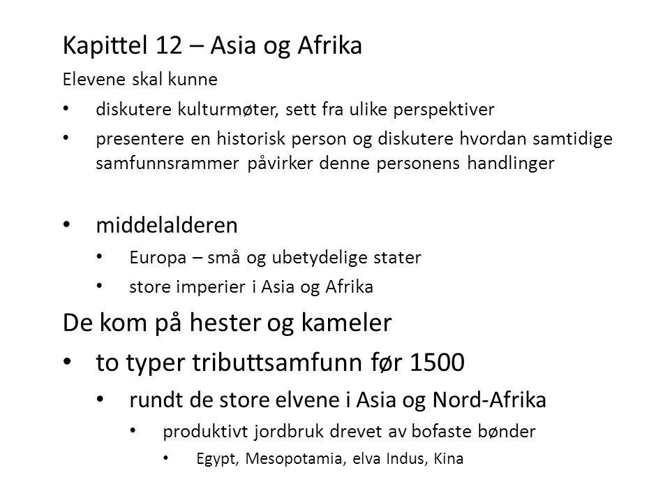 Kapittel 12 – Asia og Afrika