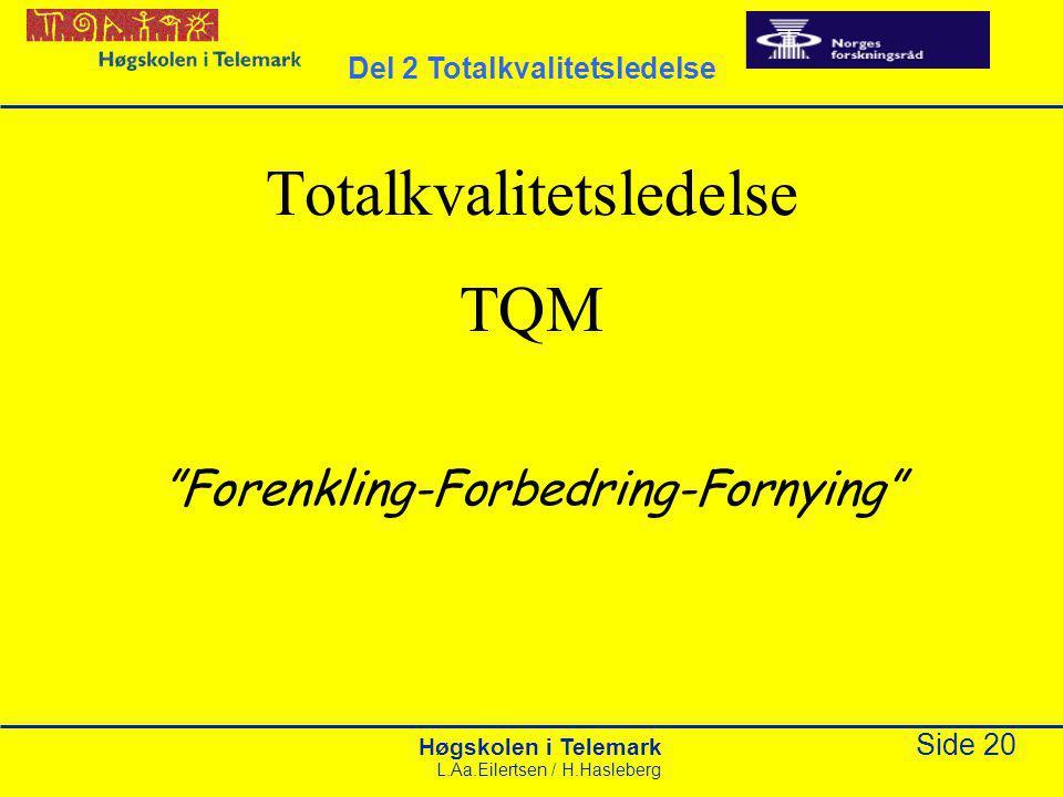 Totalkvalitetsledelse TQM
