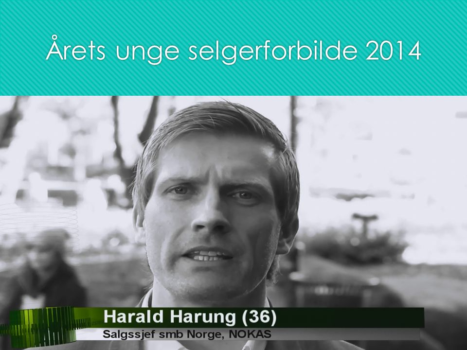 Årets unge selgerforbilde 2014