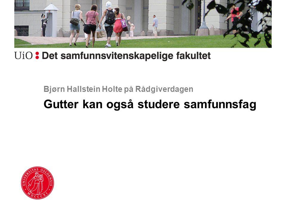 Bjørn Hallstein Holte på Rådgiverdagen
