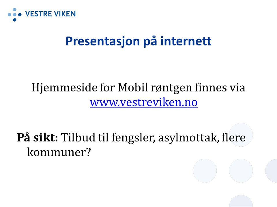 Presentasjon på internett