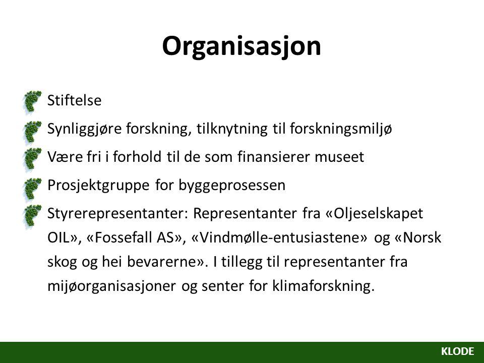 Organisasjon Stiftelse