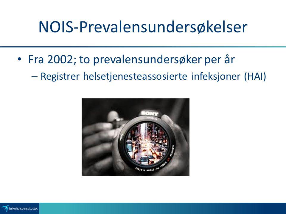 NOIS-Prevalensundersøkelser