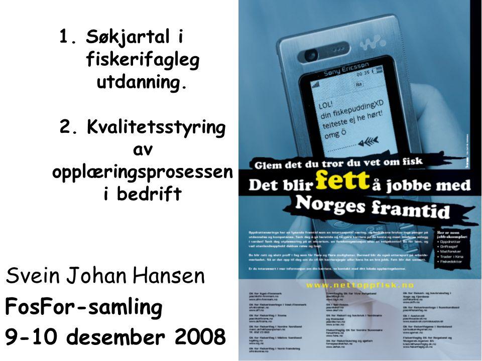 Svein Johan Hansen FosFor-samling 9-10 desember 2008