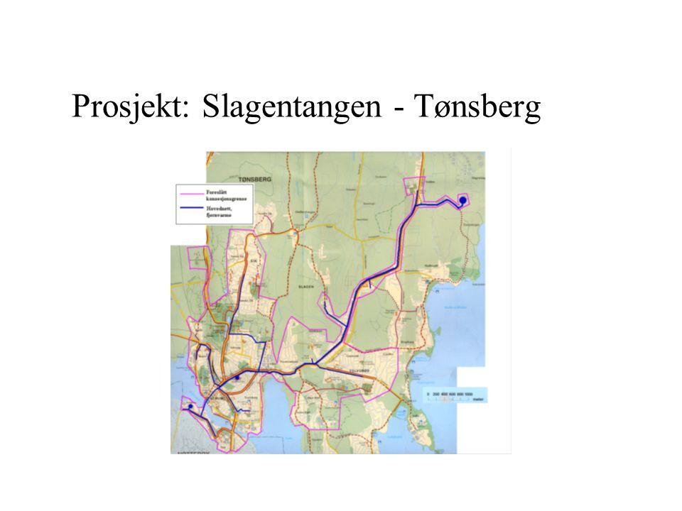 Prosjekt: Slagentangen - Tønsberg