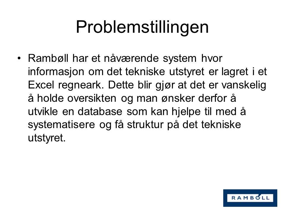 Problemstillingen