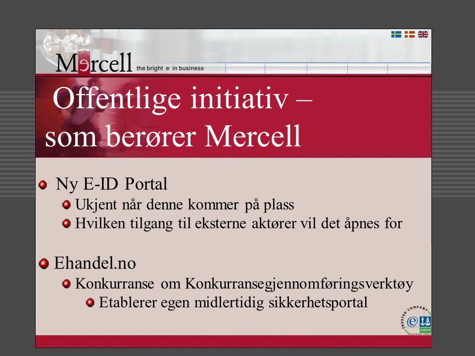 Offentlige initiativ – som berører Mercell