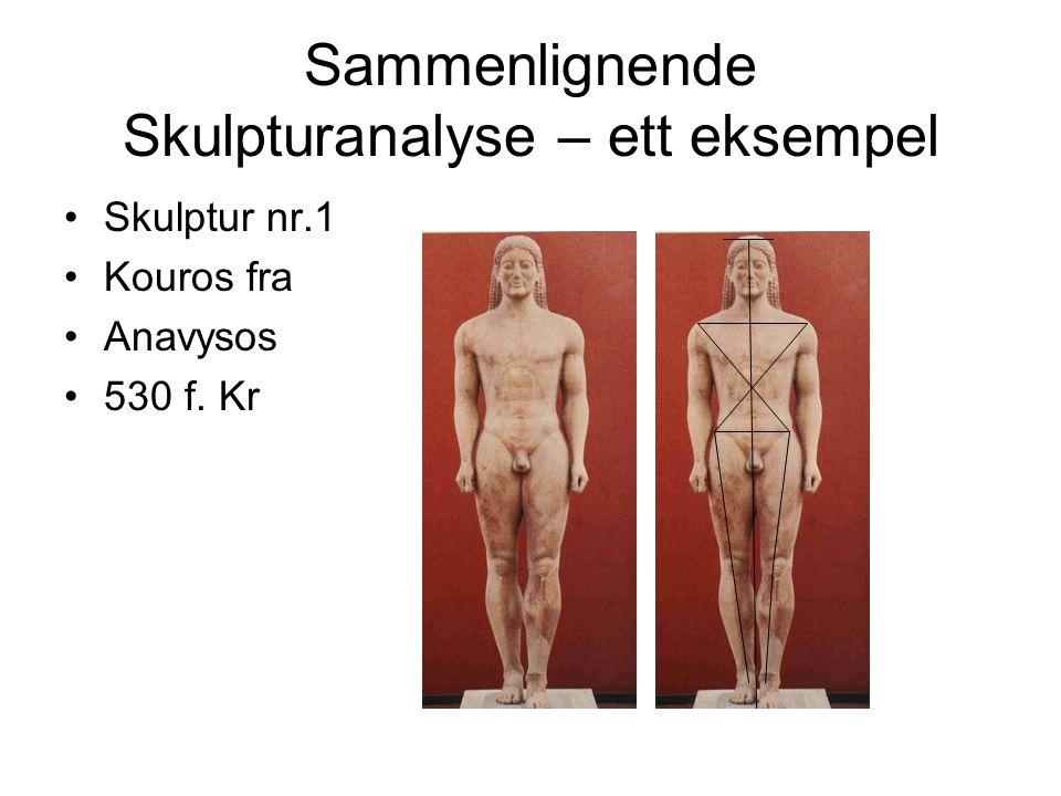 Sammenlignende Skulpturanalyse – ett eksempel