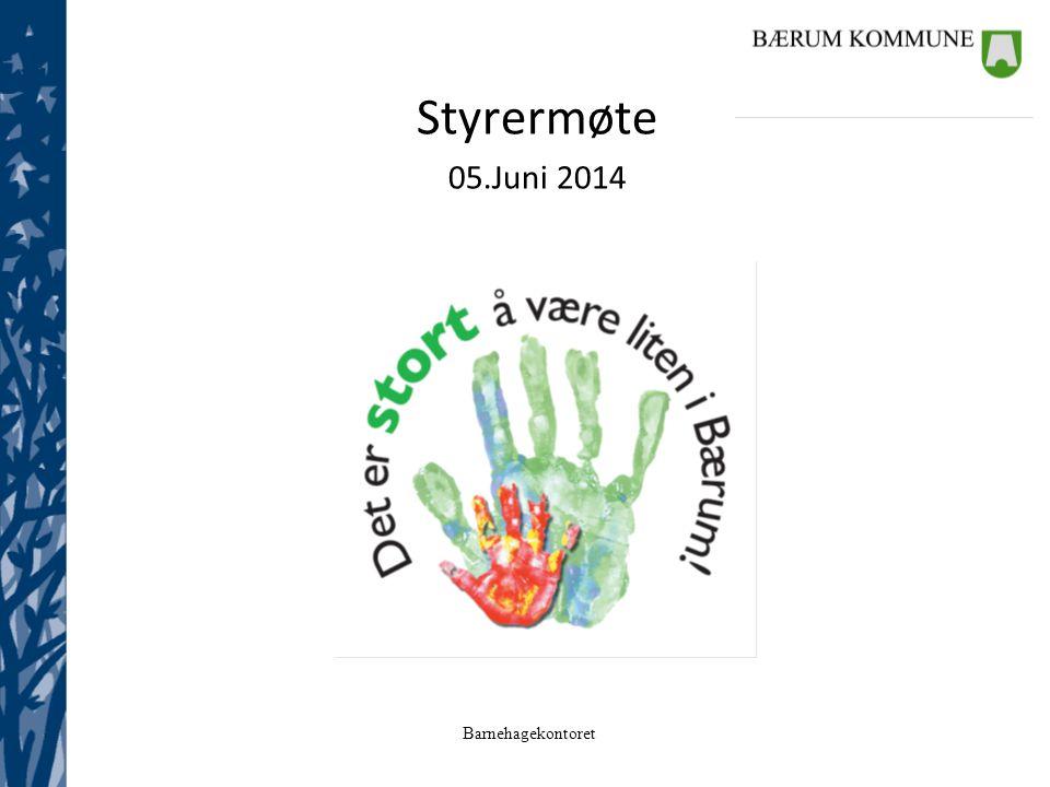 Styrermøte 05.Juni 2014