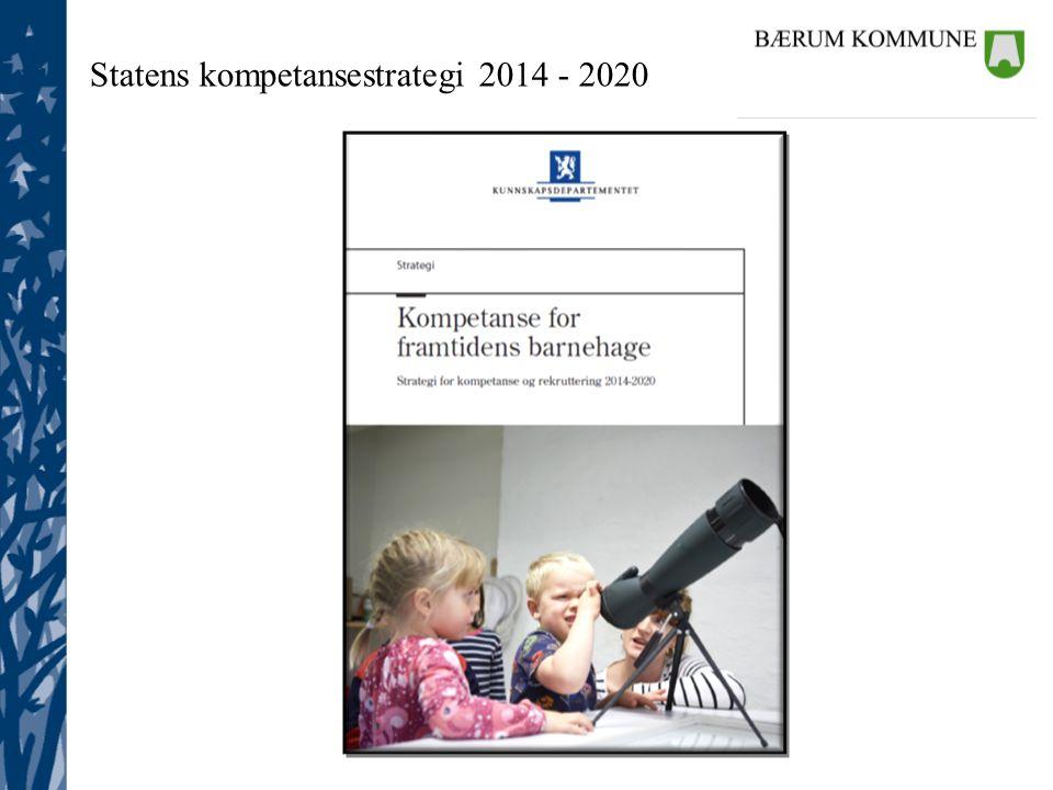 Statens kompetansestrategi 2014 - 2020