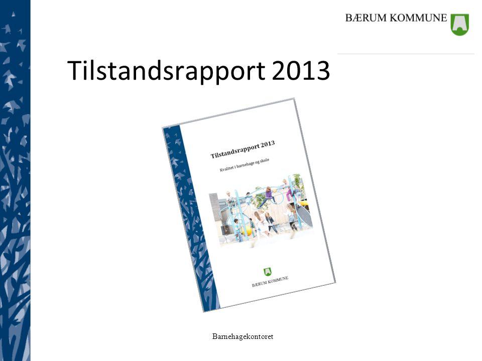 Tilstandsrapport 2013