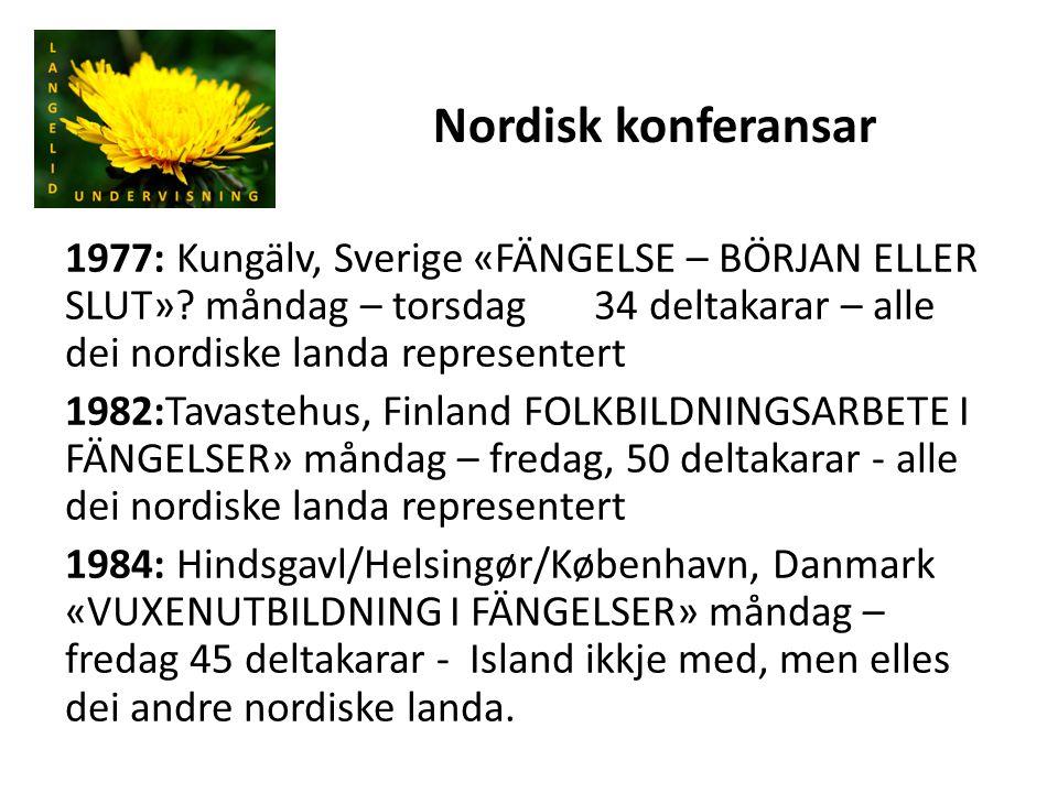 Nordisk konferansar