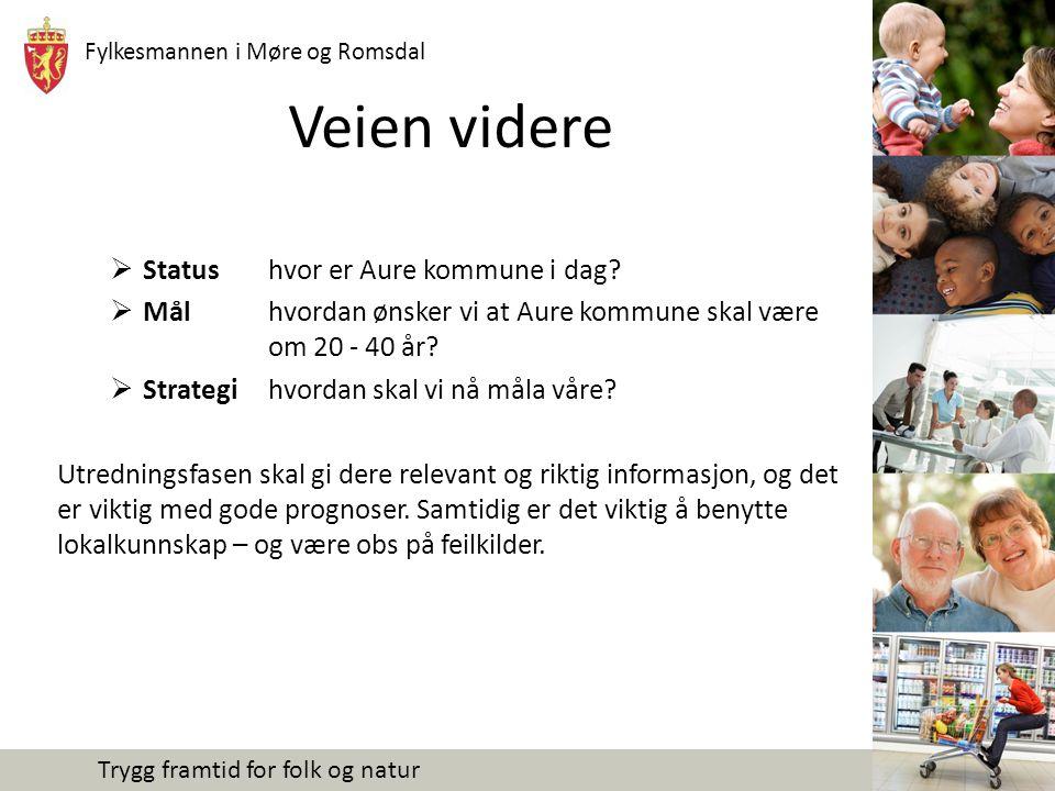 Veien videre Status hvor er Aure kommune i dag
