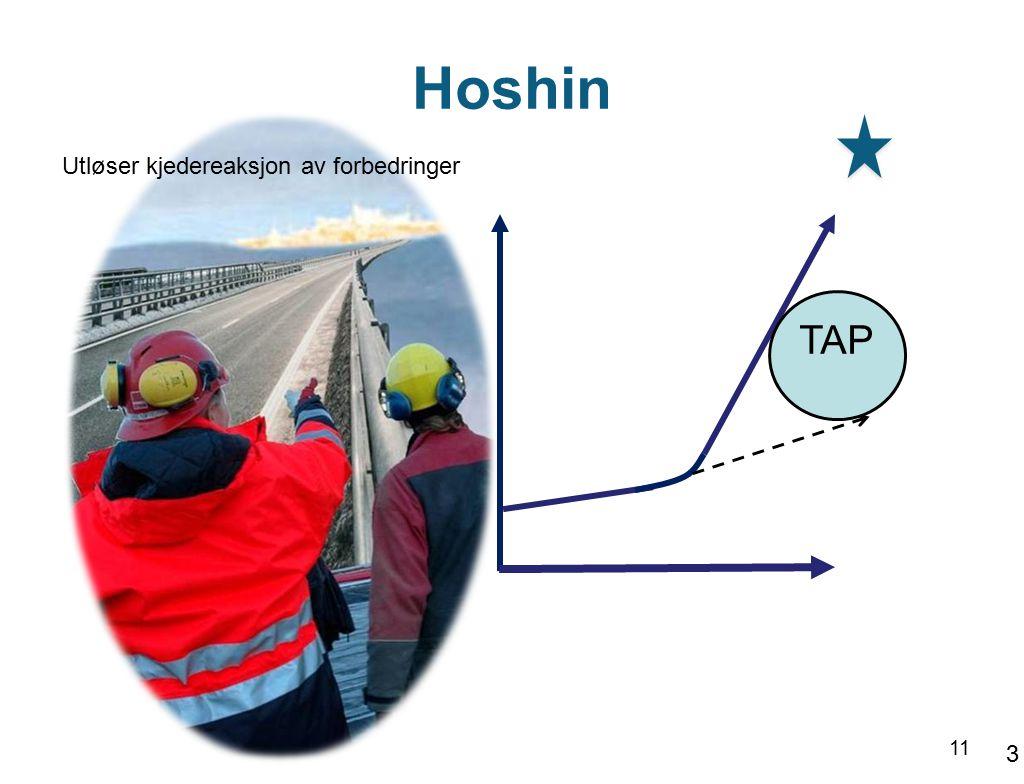 Hoshin Utløser kjedereaksjon av forbedringer TAP 11