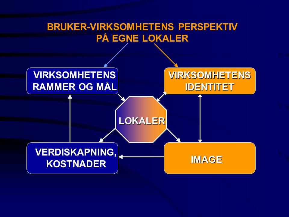 BRUKER-VIRKSOMHETENS PERSPEKTIV PÅ EGNE LOKALER