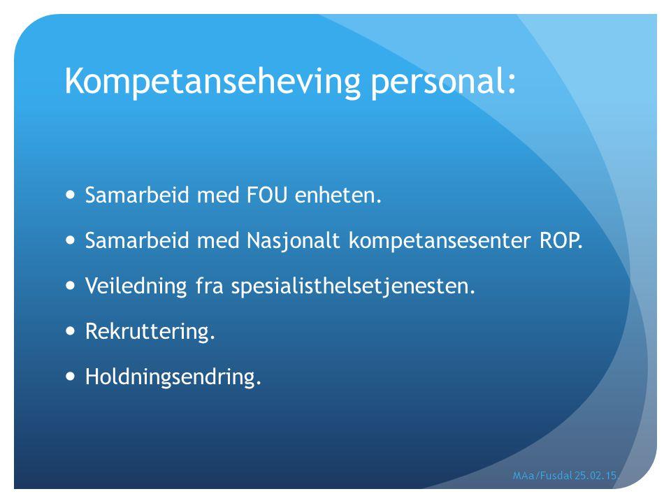 Kompetanseheving personal:
