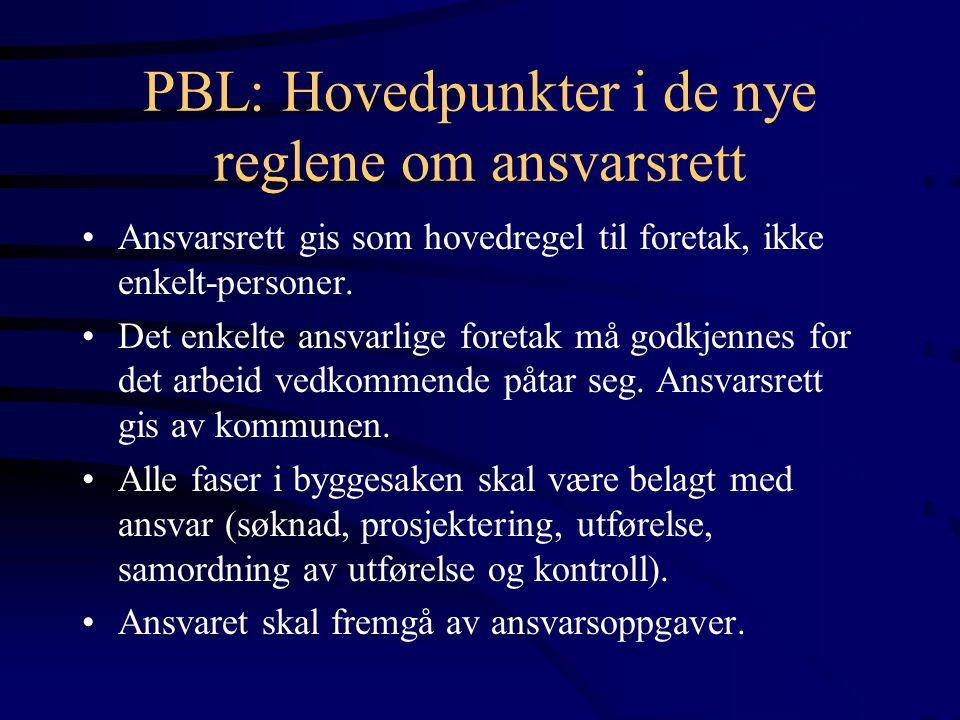 PBL: Hovedpunkter i de nye reglene om ansvarsrett