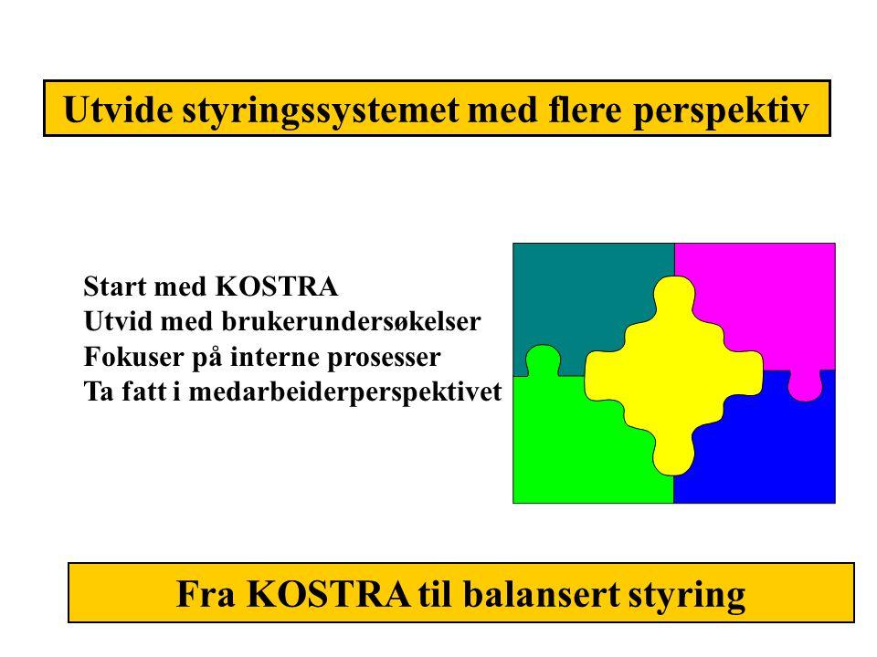 Utvide styringssystemet med flere perspektiv