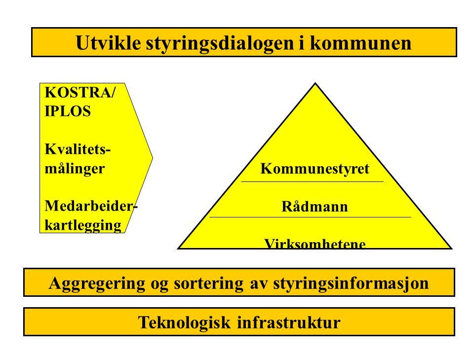 Utvikle styringsdialogen i kommunen