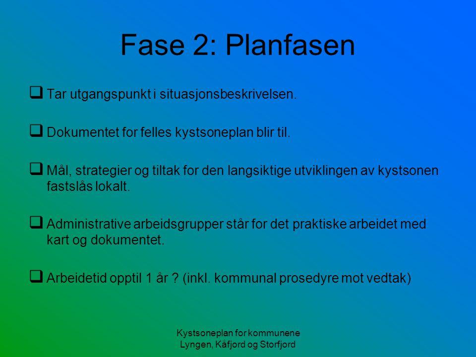 Kystsoneplan for kommunene Lyngen, Kåfjord og Storfjord