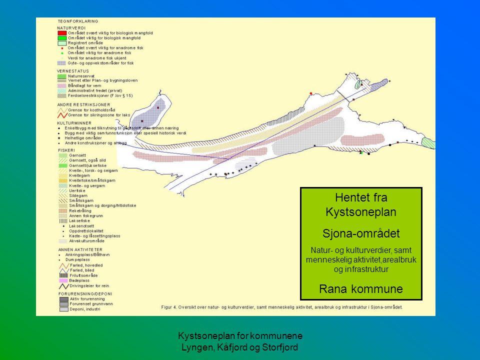 Hentet fra Kystsoneplan Sjona-området