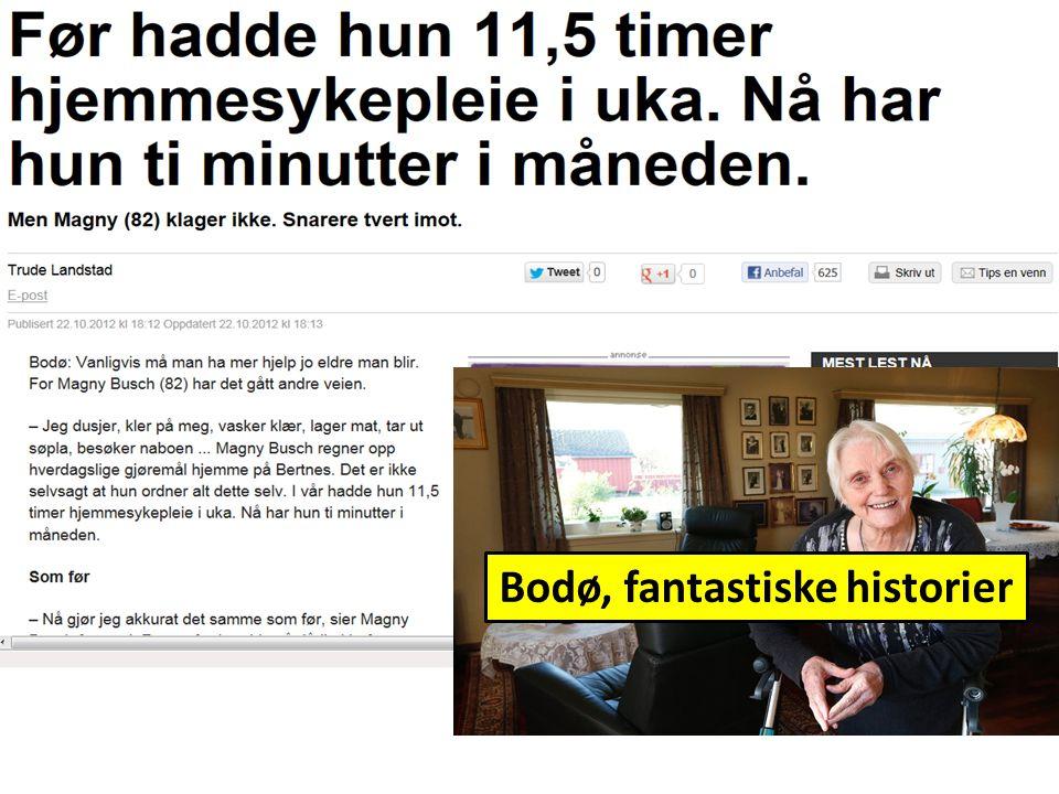 Bodø, fantastiske historier