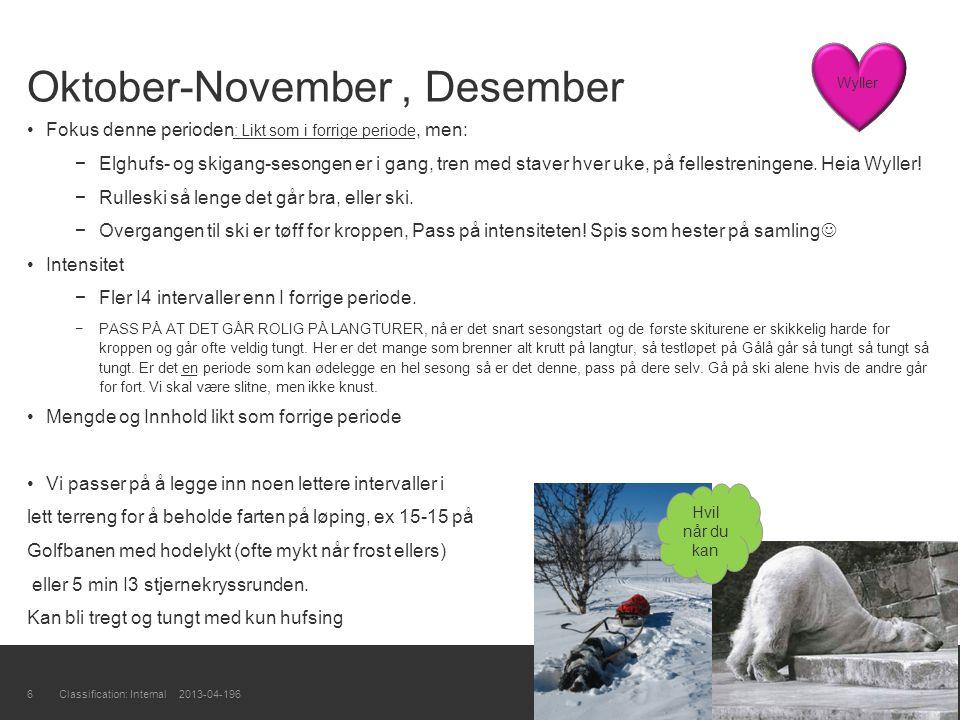 Oktober-November , Desember