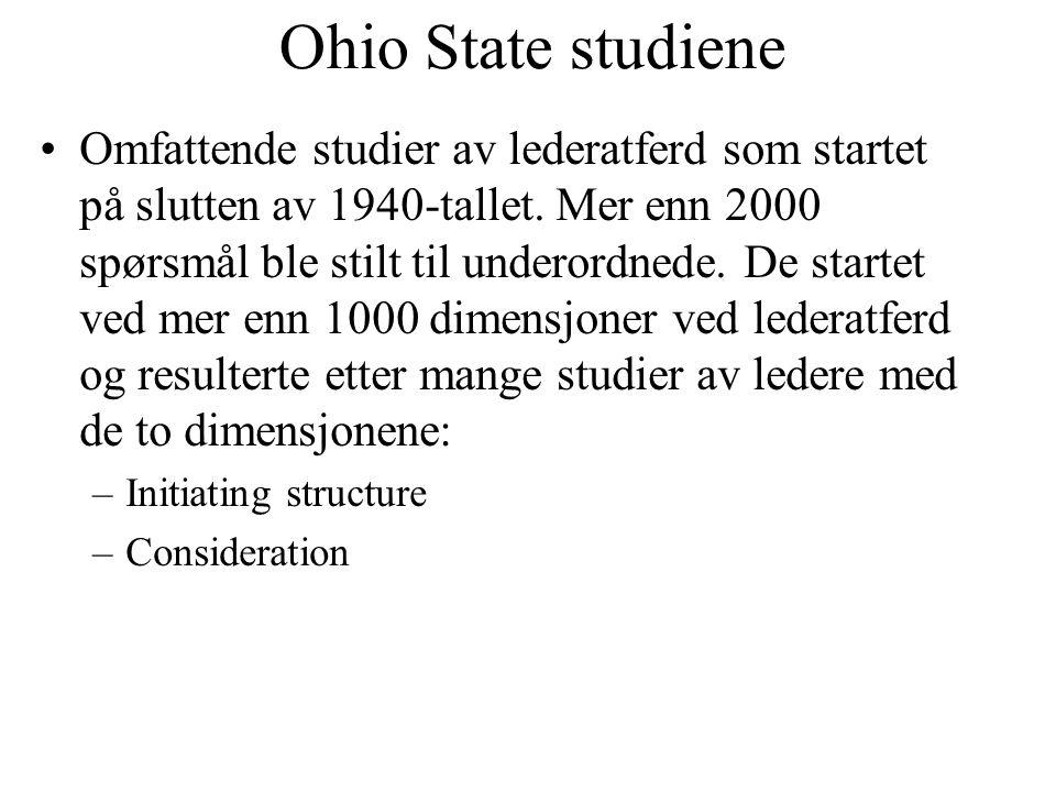 Ohio State studiene