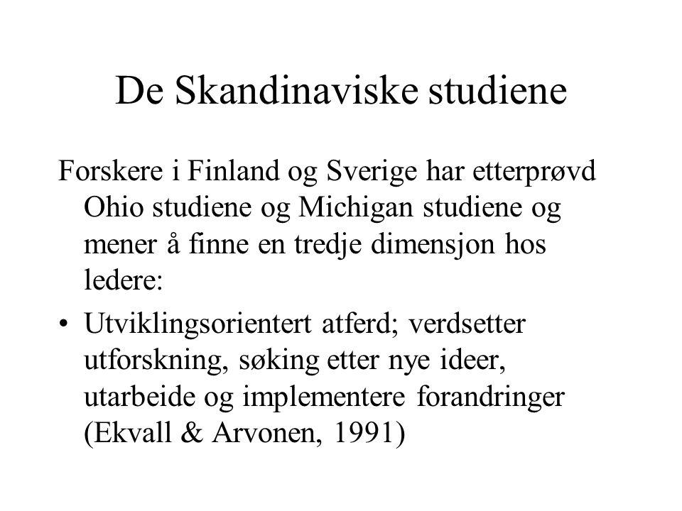 De Skandinaviske studiene