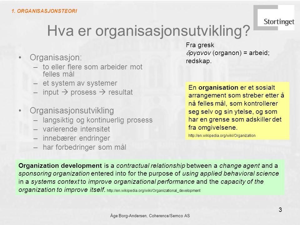 Hva er organisasjonsutvikling