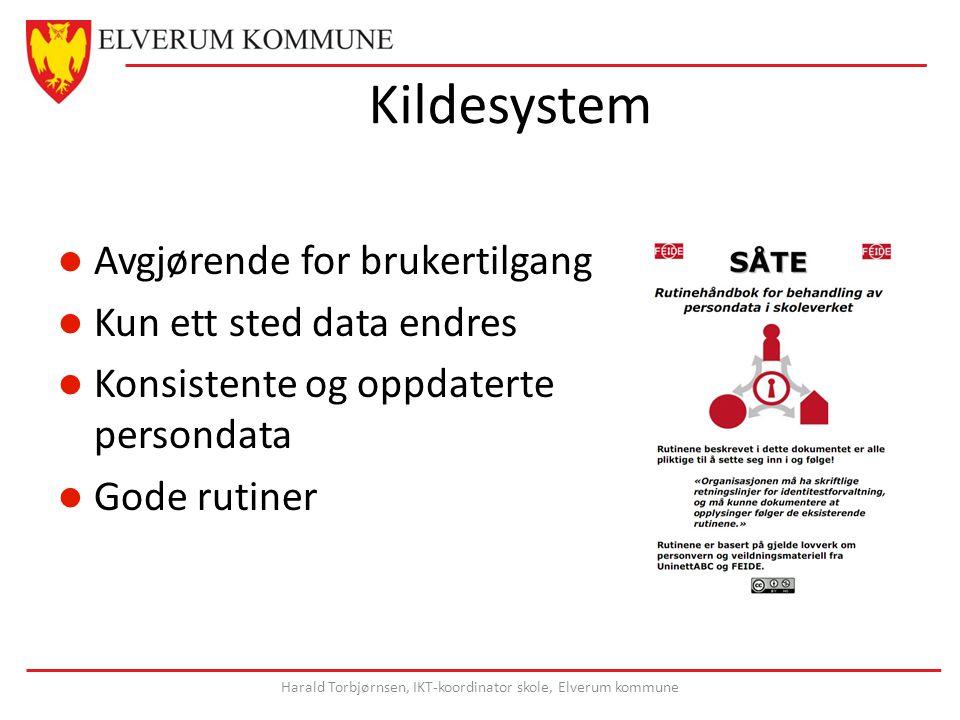Harald Torbjørnsen, IKT-koordinator skole, Elverum kommune