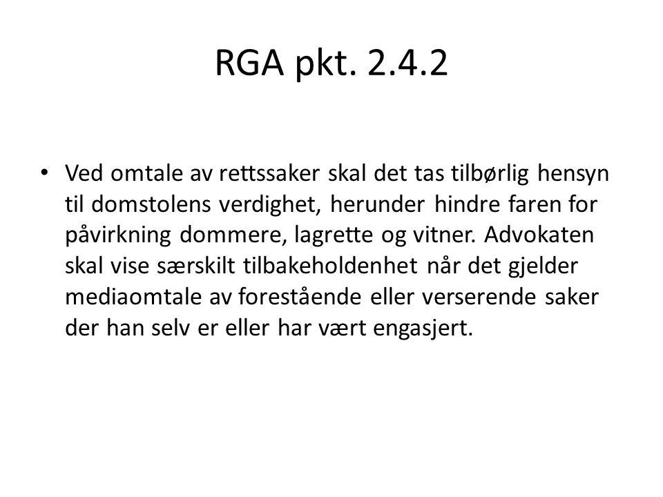 RGA pkt. 2.4.2