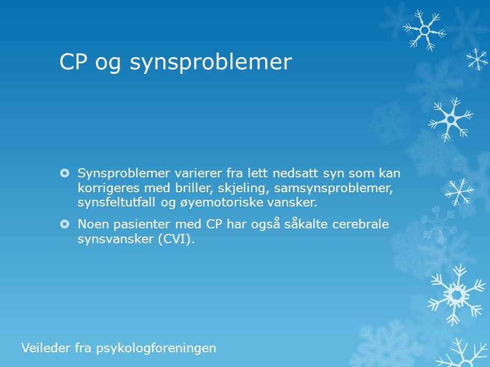 CP og synsproblemer