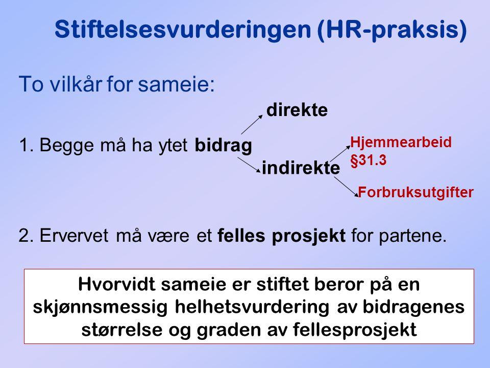 Stiftelsesvurderingen (HR-praksis)
