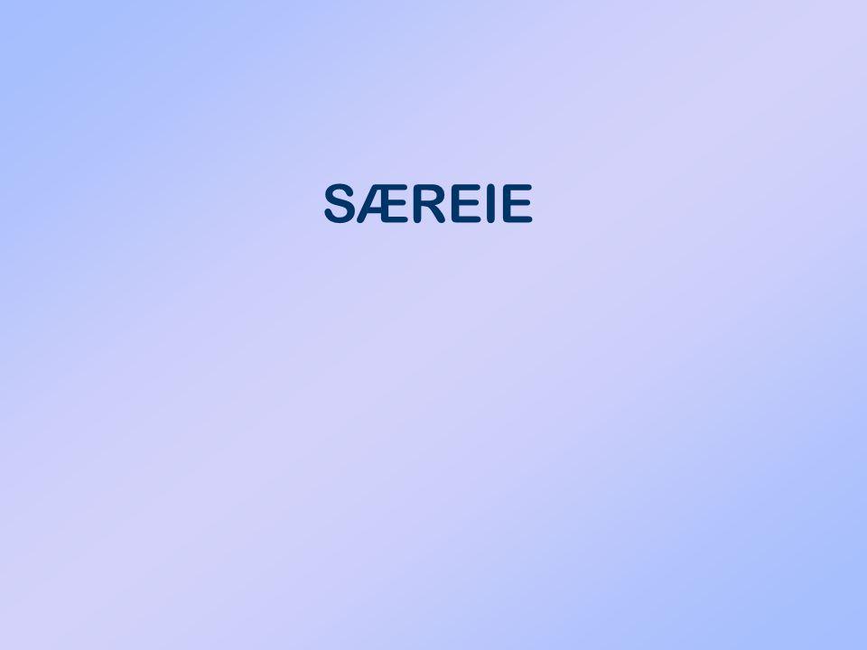 SÆREIE