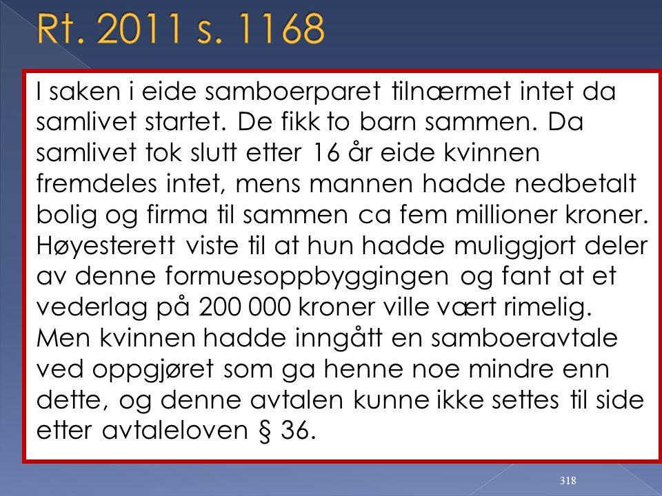 Rt. 2011 s. 1168