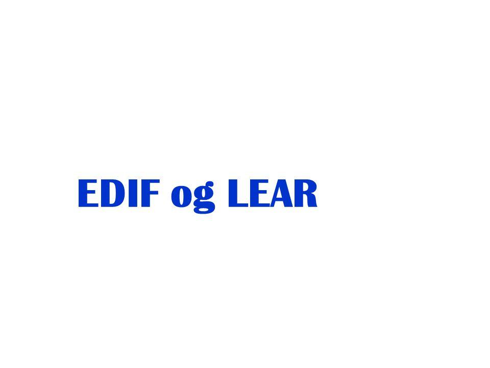 EDIF og LEAR