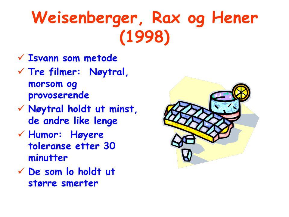 Weisenberger, Rax og Hener (1998)