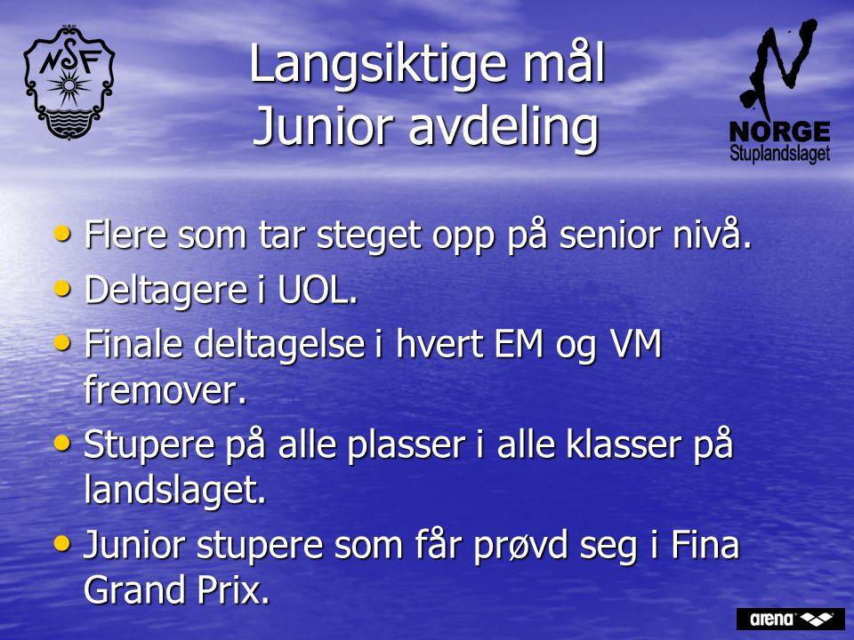 Langsiktige mål Junior avdeling