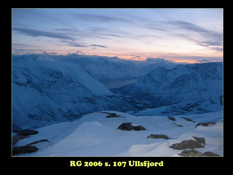 RG 2006 s. 107 Ullsfjord