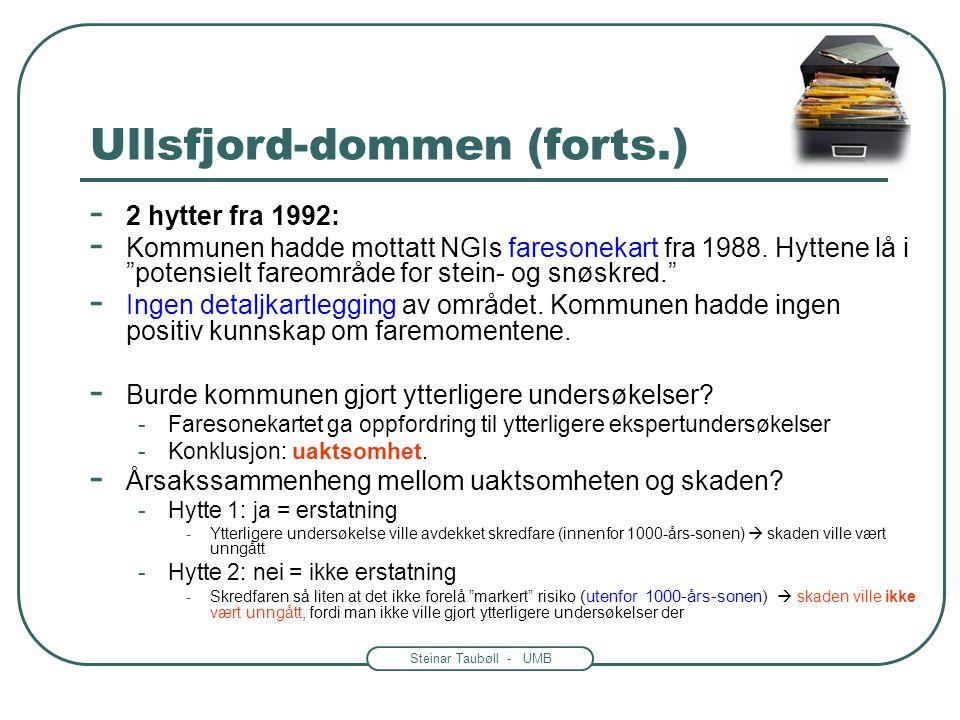 Ullsfjord-dommen (forts.)