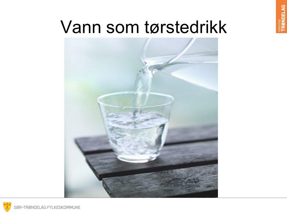 Vann som tørstedrikk