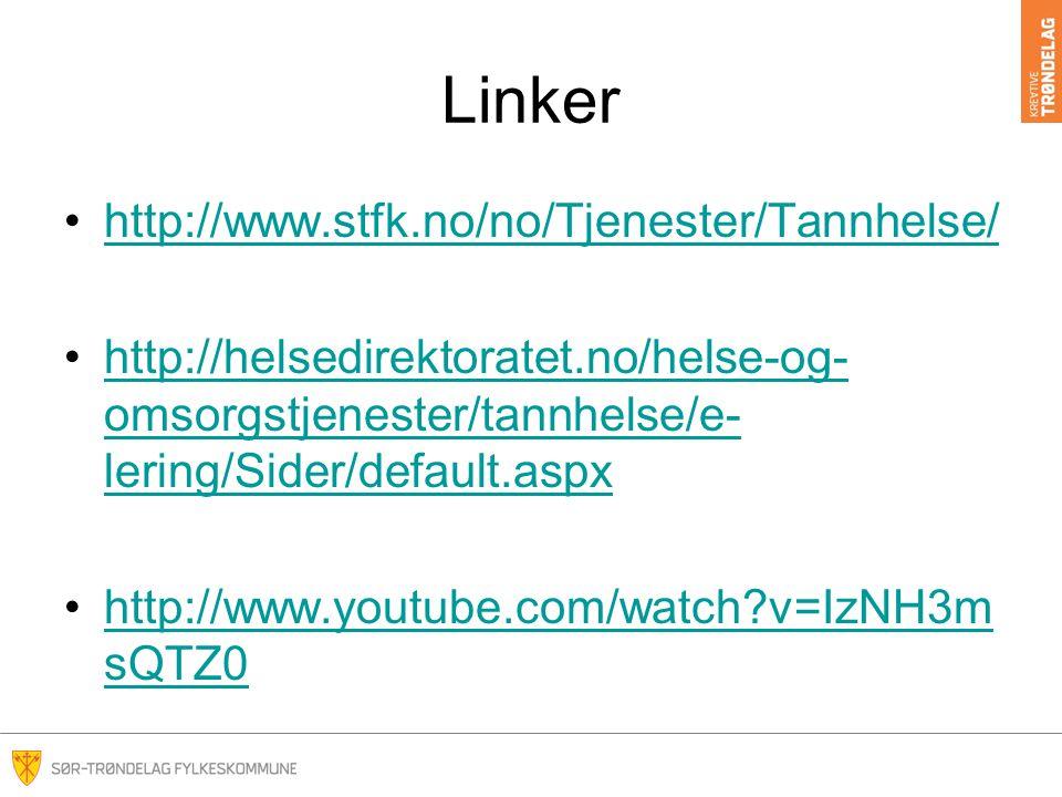 Linker http://www.stfk.no/no/Tjenester/Tannhelse/