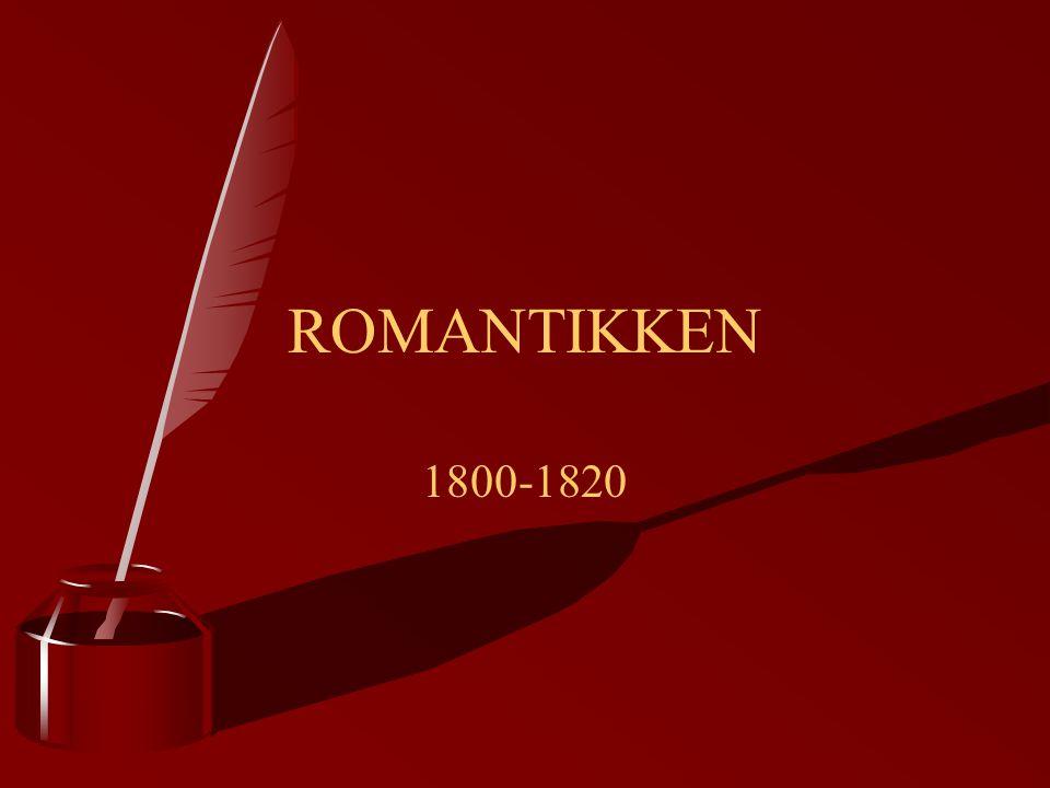 ROMANTIKKEN 1800-1820