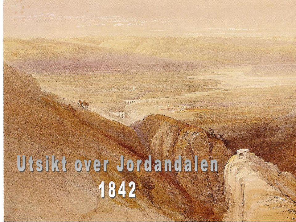 Utsikt over Jordandalen