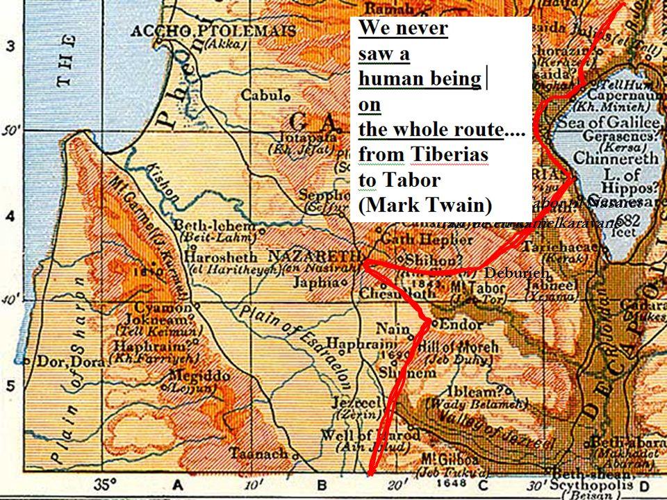 På veien fra Tabor til Nasaret