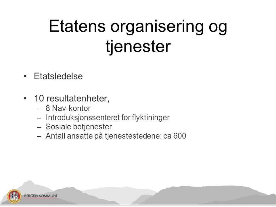 Etatens organisering og tjenester