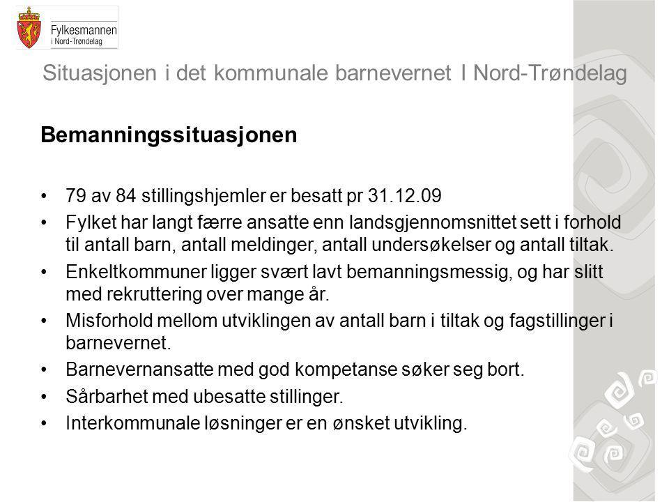 Situasjonen i det kommunale barnevernet I Nord-Trøndelag